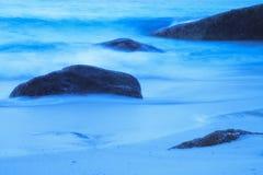 Море и камень на острове Similan Стоковые Изображения RF