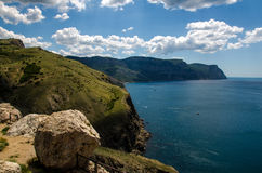 Море и накидка Стоковые Изображения