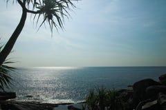 Море и небо моря Andaman Стоковые Фотографии RF