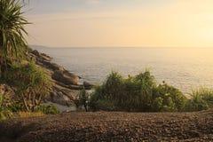 Море и небо моря Andaman Стоковая Фотография