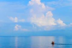 Море и небо Стоковые Фото