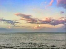 Море и небо Стоковая Фотография