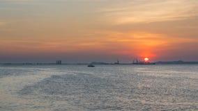 Море и небо Стоковое Фото