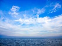 Море и небо Стоковое Изображение RF