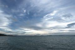 Море и небо Стоковые Фотографии RF