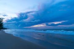 Море и небо Стоковые Изображения