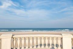Море и небо Стоковое Изображение