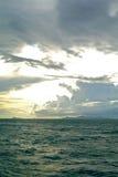 Море и облака в Таиланде Стоковые Фотографии RF