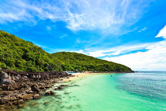 Море и песок стоковое фото