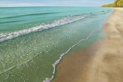 Море и пляж стоковое фото