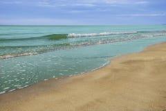 Море и пляж стоковые фотографии rf