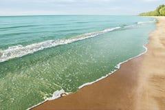 Море и пляж стоковые изображения rf