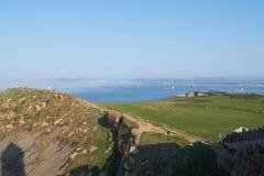 Море и побережье стоковое изображение
