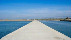 Море и река Стоковые Изображения