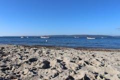 Море и рыболовы стоковые фото