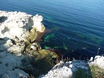 Море и свои творения Стоковое Изображение RF