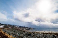 Море и солнце Стоковая Фотография RF