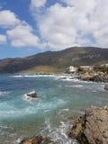 Море и утесы Mer стоковая фотография