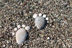 Море камешков Стоковые Изображения