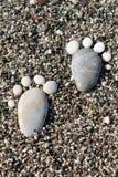 Море камешков Стоковые Фотографии RF