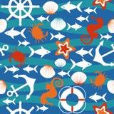 море картины безшовное Стоковая Фотография RF