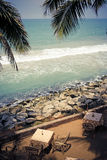 море кафа уютное близрасположенное Стоковое фото RF