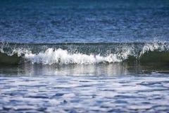 Море красиво в зиме Стоковое Изображение RF