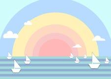 Море красочное Стоковая Фотография RF