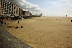 море курорта oostende Бельгии северное стоковые фотографии rf
