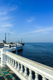 море к путю Стоковая Фотография