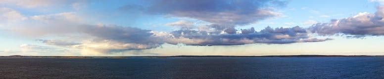 море ландшафта облаков Стоковые Изображения