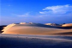 море ландшафта пляжа Стоковое Изображение