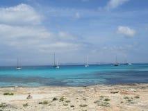 Море летом стоковая фотография rf