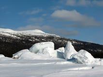 море льда Стоковые Изображения