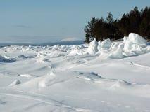 море льда Стоковое Изображение