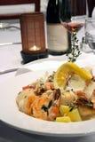 море макаронных изделия еды Стоковые Изображения RF