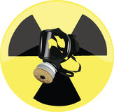 море маски человека газа Стоковые Фото