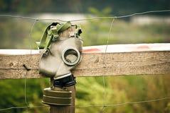 море маски человека газа Стоковая Фотография
