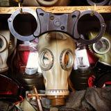 море маски человека газа Стоковые Изображения