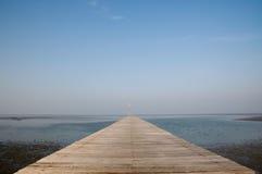 море моста к Стоковое Изображение