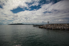 море моста к стоковое изображение rf