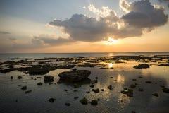 Море на вечере Стоковая Фотография RF