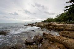 Море на острове Стоковая Фотография