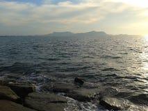 Море на Sattahip Стоковые Изображения RF