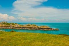 Море небо Стоковая Фотография