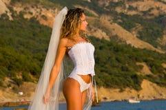 море невесты Стоковая Фотография RF