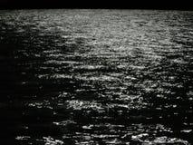 Море ночи Стоковая Фотография