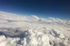 Море облаков над небом Стоковая Фотография