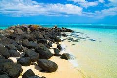 Море облицовывает горизонт стоковое фото rf
