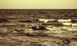 Море осени Стоковые Фотографии RF